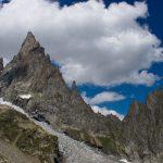 L'Aiguille Noire de Peuterey et le Glacier du Freney