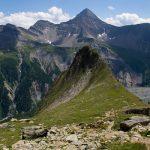 L'Aiguille du Châtelet vue depuis le Refuge Monzino