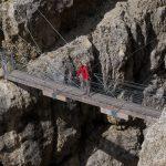 Pour la descente, y'a un pont