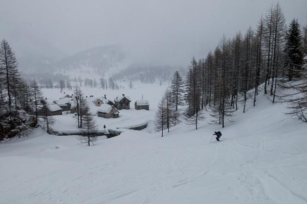 Retour à Alpe Devero sous la neige