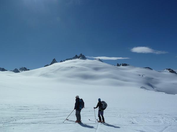 Descente du Glacier du Trient