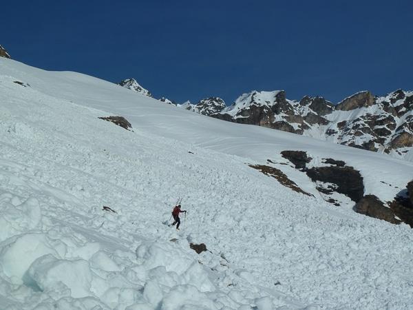 Coulées d'avalanche