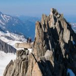Alpinistes sur le Roc de la Table