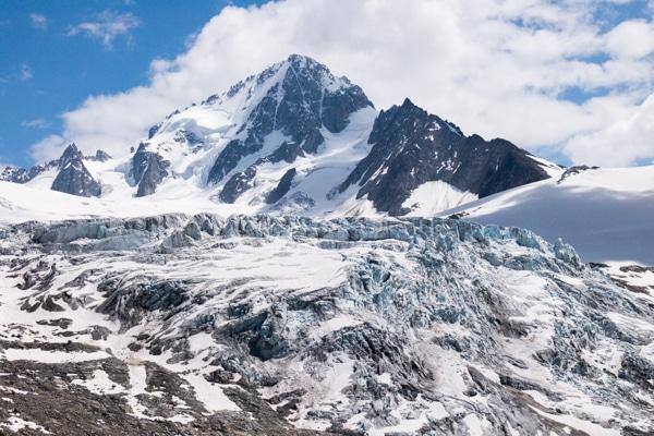Glacier du Tour et Aiguille du Chardonnet