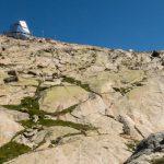 La cabane du Mont Rose