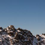 Alpinistes sur la Pointe Dufour