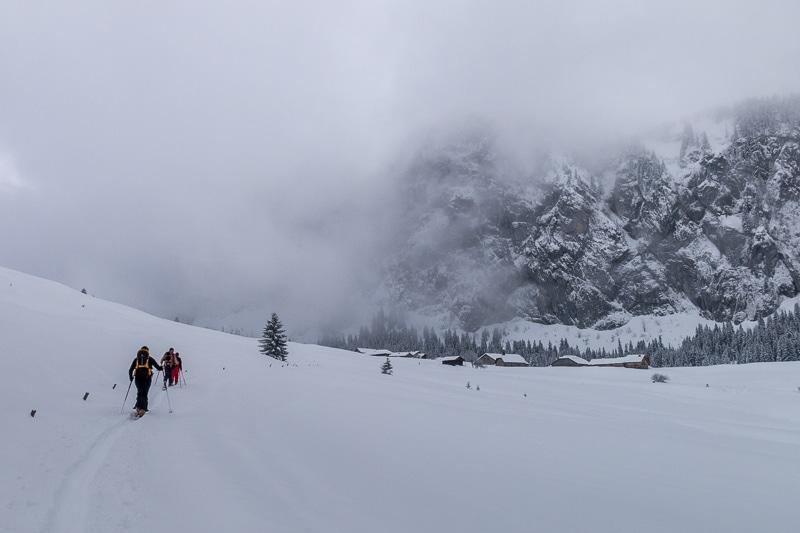 Arrivée à l'alpage d'Ubine