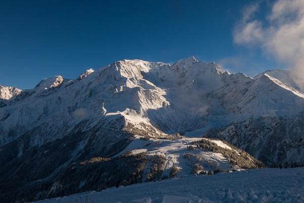 Dôme du Goûter et Mont Blanc
