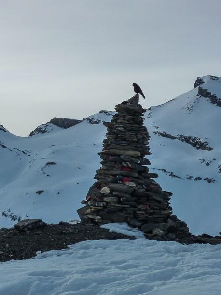 6e jour : devant le Lämmerenhütte