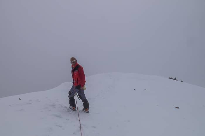 Sommet du Piz Calderas (3397 m)