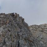 Partie finale de l'arête des Bouquetins avec le sommet du Jallouvre