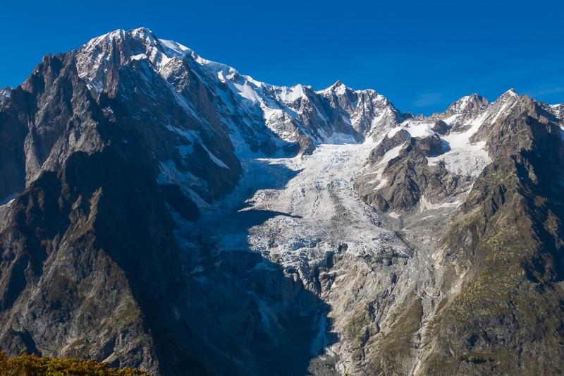 Vue sur le Mont Blanc