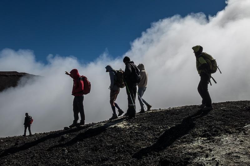 Etna / Sur les crêtes