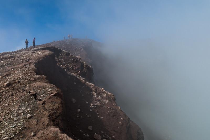 Etna / Cratère Nord Est