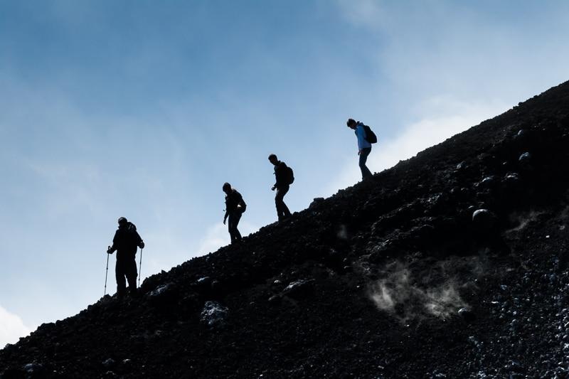 Etna / Fumerolles