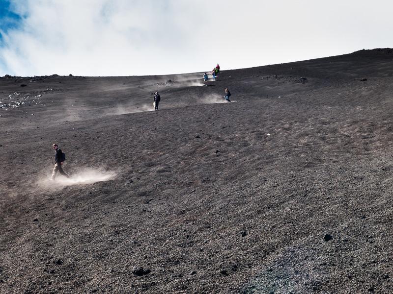Etna / Poussière de lave