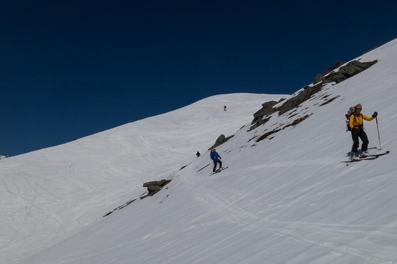 Descente depuis le Monte Estellatta