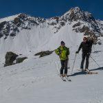 Devant le Monte Freid