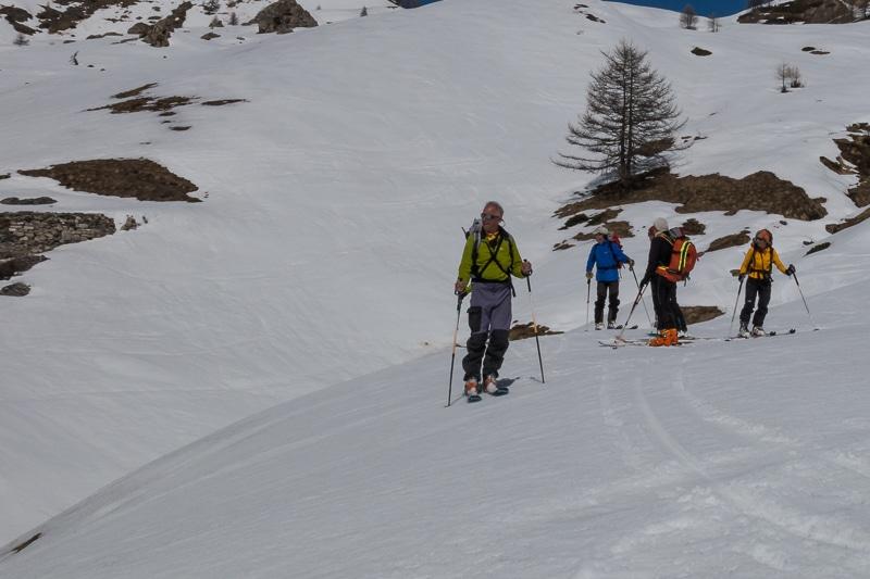 Descente vers Chialvetta