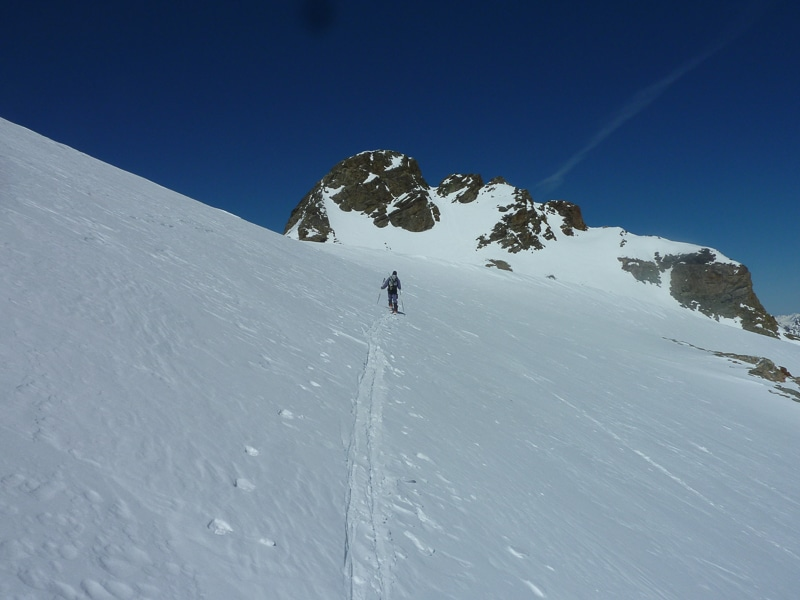 Vers Piz d'Err 3378 m
