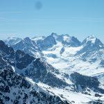 Piz Bernina depuis Tschima da Flix