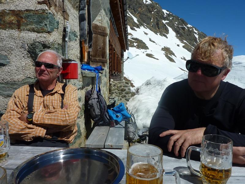 La bière au refuge