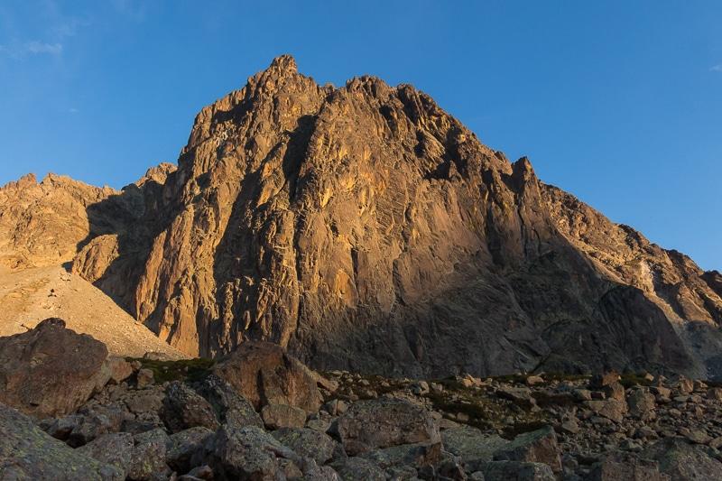 Lever du soleil du le Pic du Midi d'Ossau