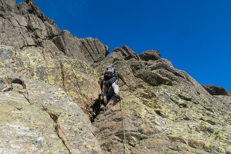 Cheminée au Pic du Midi d'Ossau