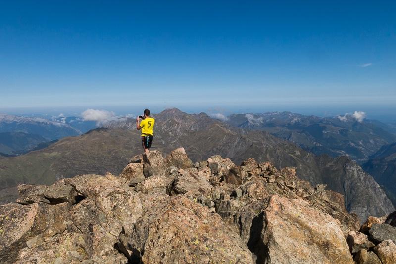 Au sommet du Pic du Midi d'Ossau