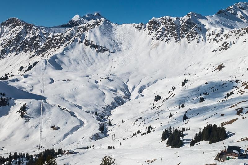 Le mur des Suisses (Chavanette)