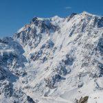 Le Mont Rose et le couloir Marinelli