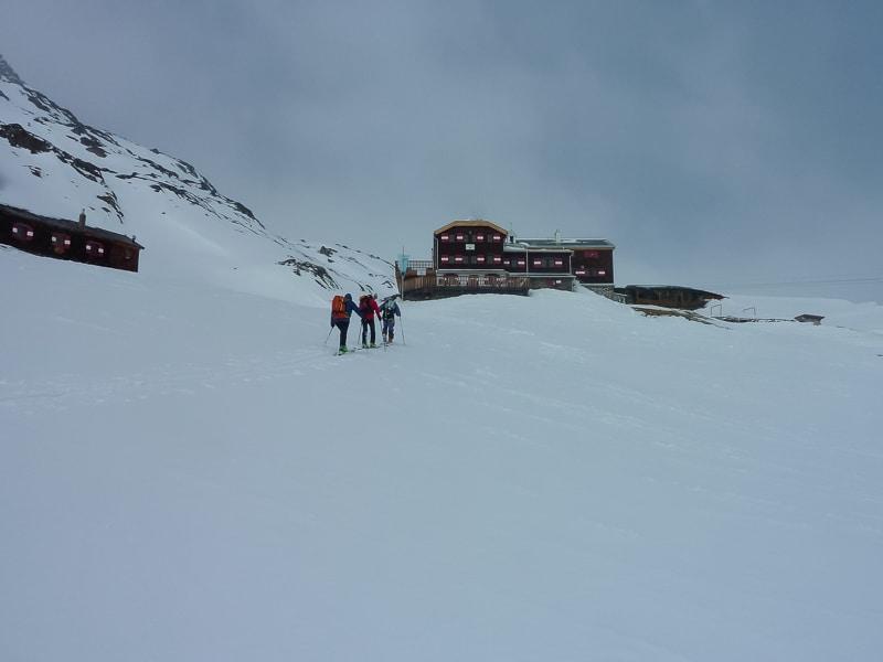 Jour 4 : Arrivée à Vernagt Hütte