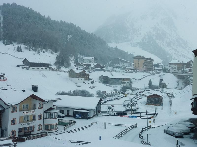 Jour 7 : Départ de Vent sous la neige