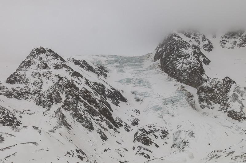 Le Monte Pasquale reste dans le brouillard