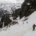 Descente vers le Rifugio Nino Corsi