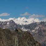 Vue sur les 4000 de Zermatt