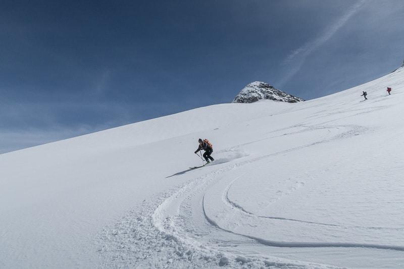 Ski de rêve sur l'Obersulzbachkees