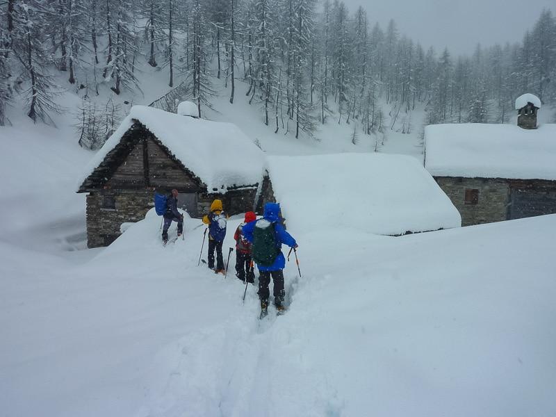 Ambiance hivernale à Codelago