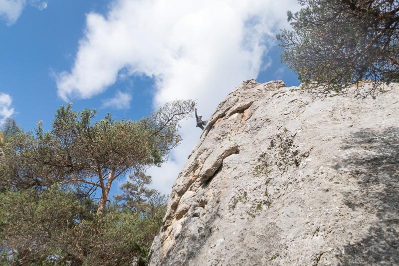 Site d'escalade Guy Dufour à la Colmiane