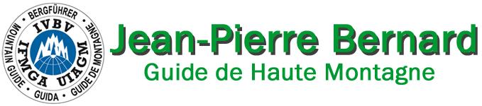 Jean-Pierre Bernard, Guide de Haute Montagne