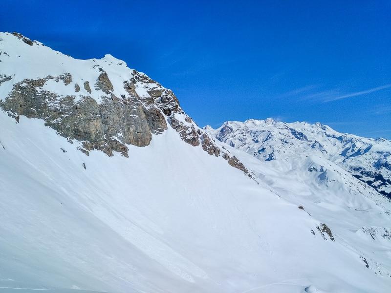 Le Mont Rose depuis le col Pillonnet