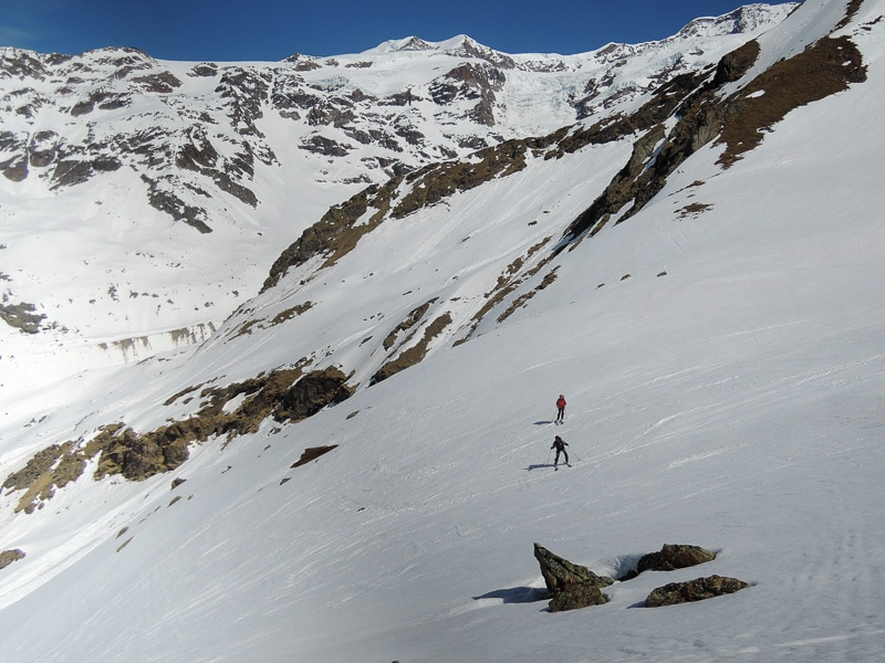 Descente vers Gressoney