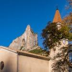 Le Quiquillon et le clocher d'Orpierre